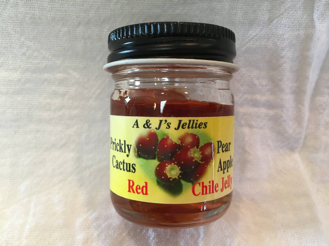 1 oz Prickly Pear Cactus Apple Red Chile Jelly