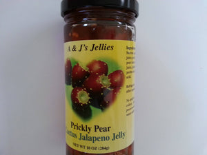 Prickly Pear Cactus Jalapeno Jelly