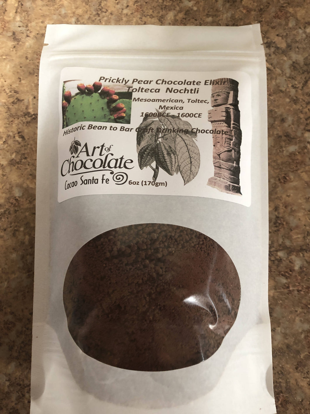 Tolteca Notchli Prickly Pear Chocolate Mix