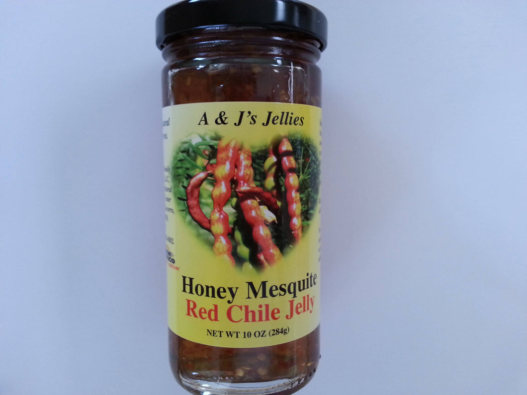 Honey Mesquite Red Chile Jelly