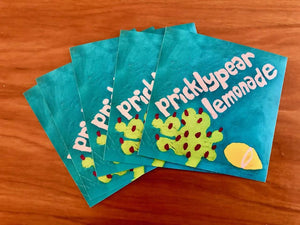 Prickly pear lemonade stickers