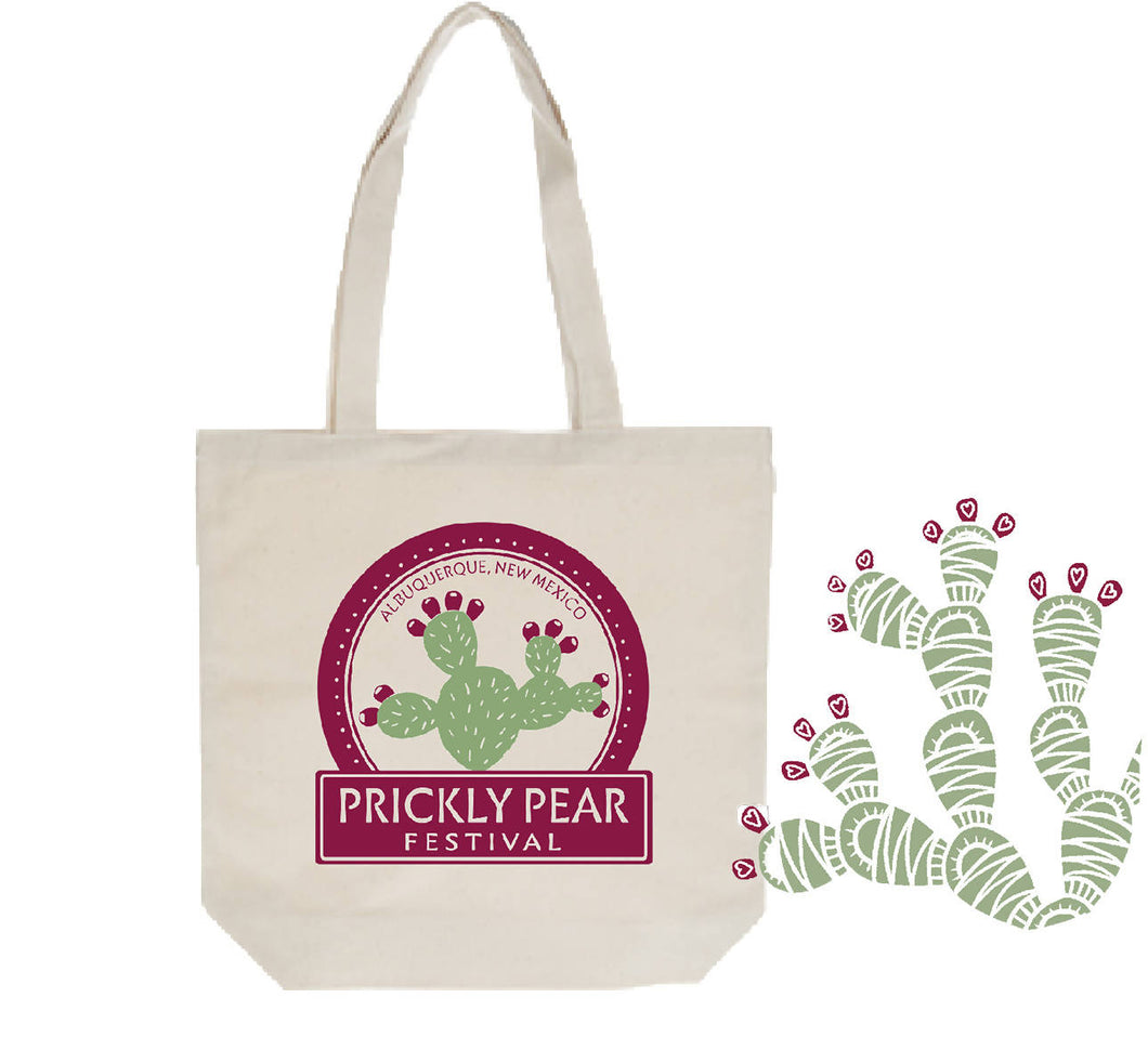 New Mexico Prickly Pear Festival Tote Bag