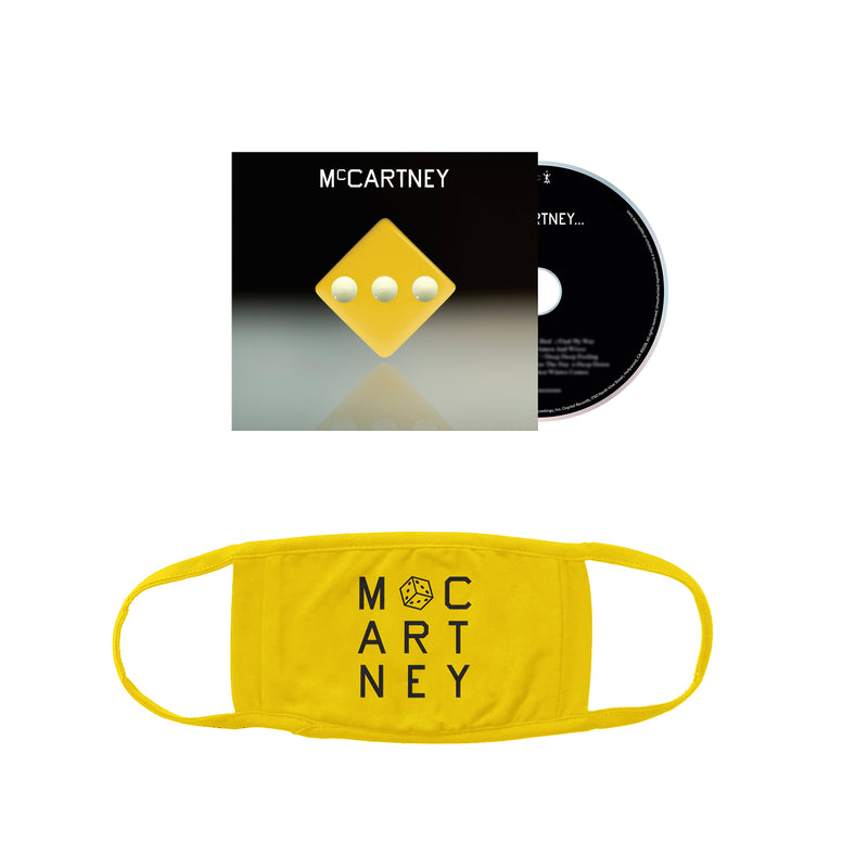 McCartney III - Edition (Jaune) Démo secrète - CD et masque