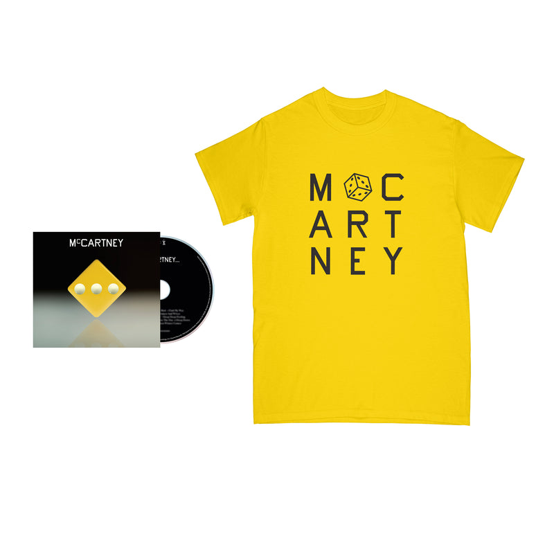 McCartney III - Édition (Jaune) Démo secrète - CD et T-shirt