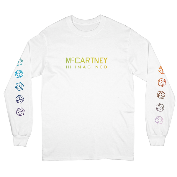 T-shirt McCartney III Imagined blanc manches longues