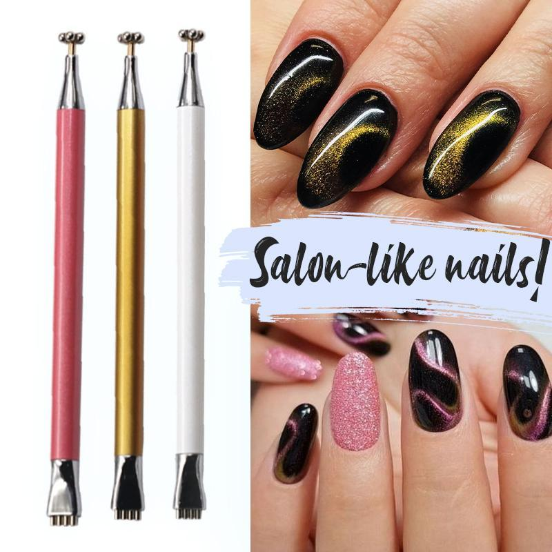 Magnetic Cat Eye Nail Art Pen