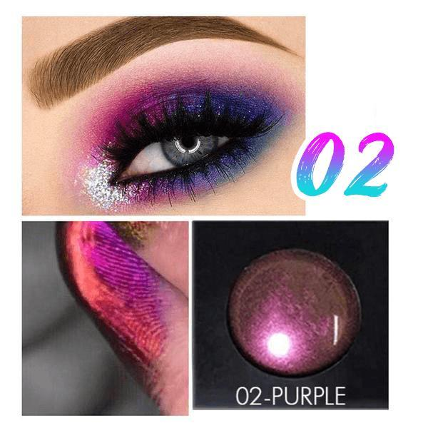 Light Changing Glitter Eye Shadow
