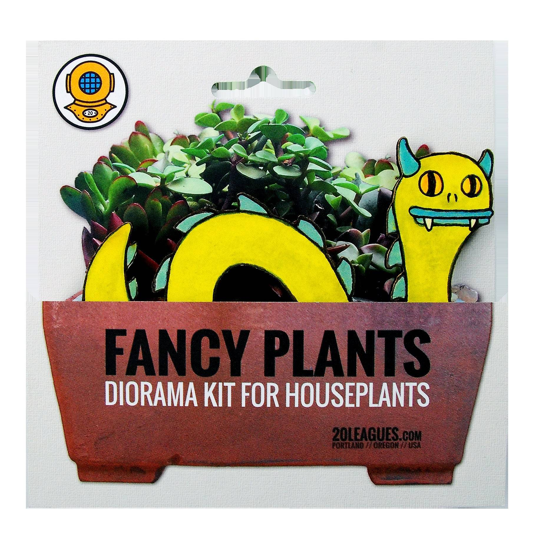 Loch Monster Fancy Plants Diorama Kit