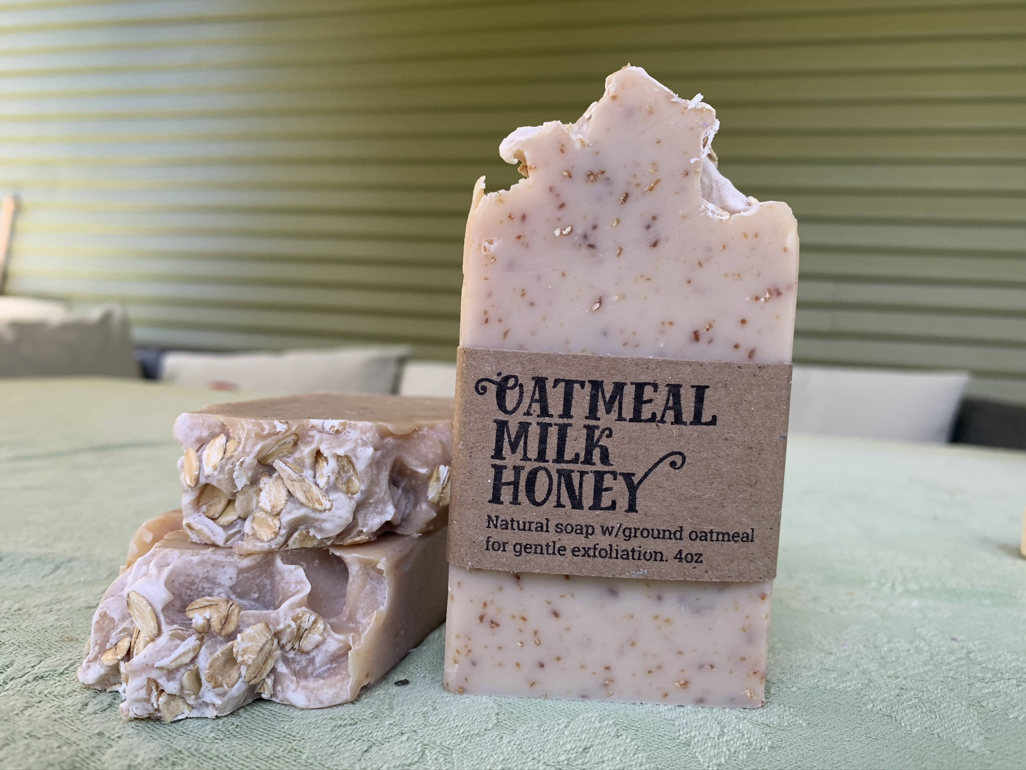 Oatmeal Milk Honey Soap