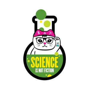 Open image in slideshow, Science Flask Die-Cut Sticker