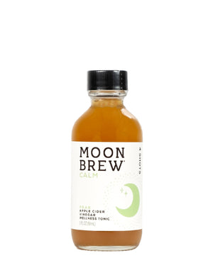 Open image in slideshow, Moon Brew | Calm - Pear | Apple Cider Vinegar Mood Balancing Tonic