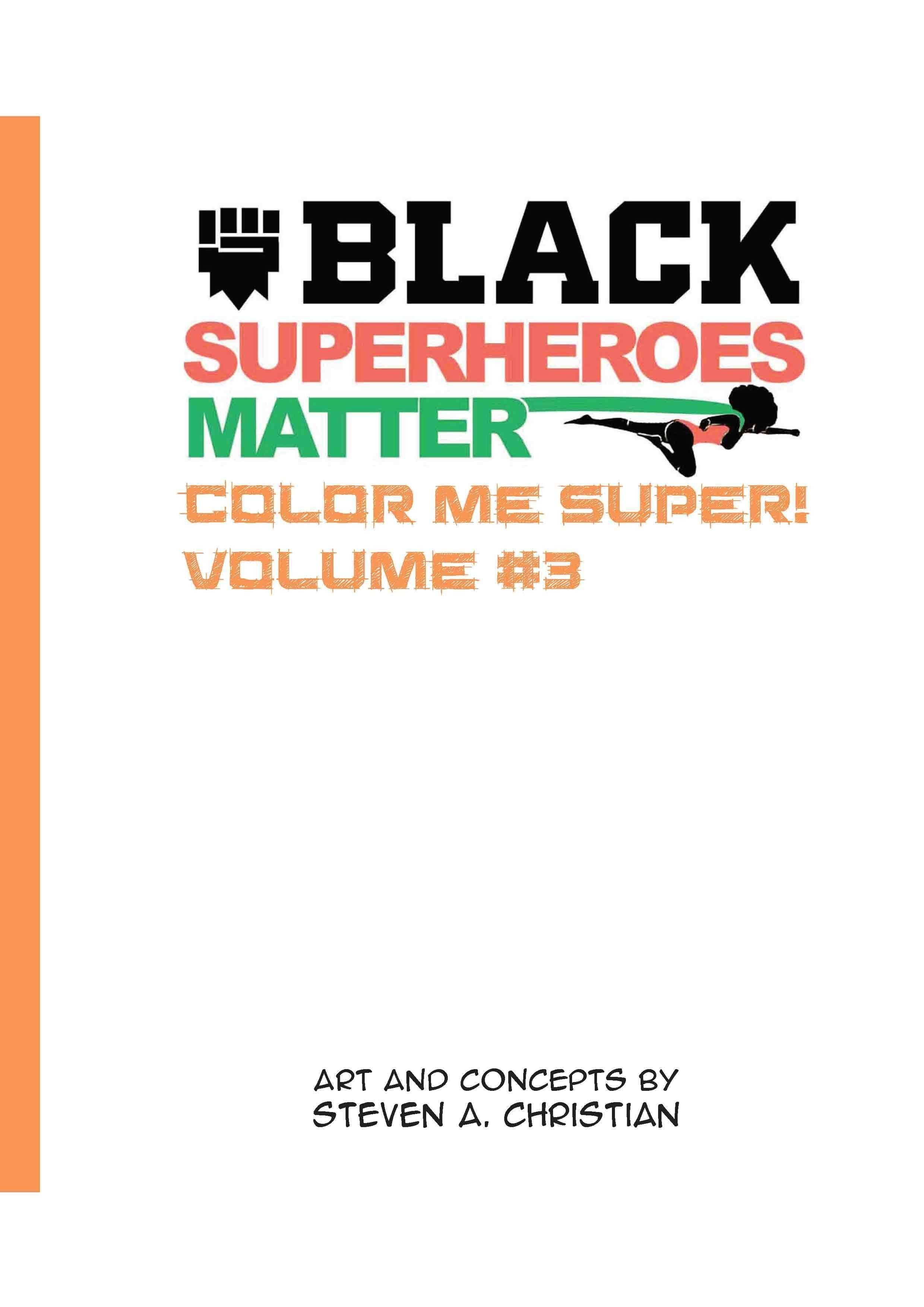 Color Me Super Volume 3