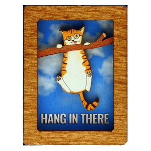 Open image in slideshow, Hang in There Cat Ornament or Magnet