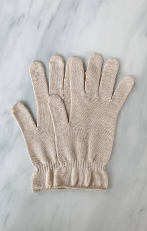 Open image in slideshow, Botanical Dyed Organic Cotton Gloves