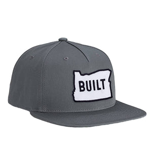 Open image in slideshow, Built Oregon Flat Bill Hat