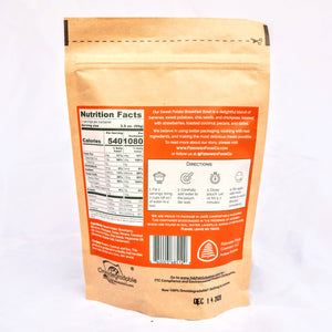 Sweet Potato Breakfast Bowl - 2 Servings - Dehydrated Adventure Meal