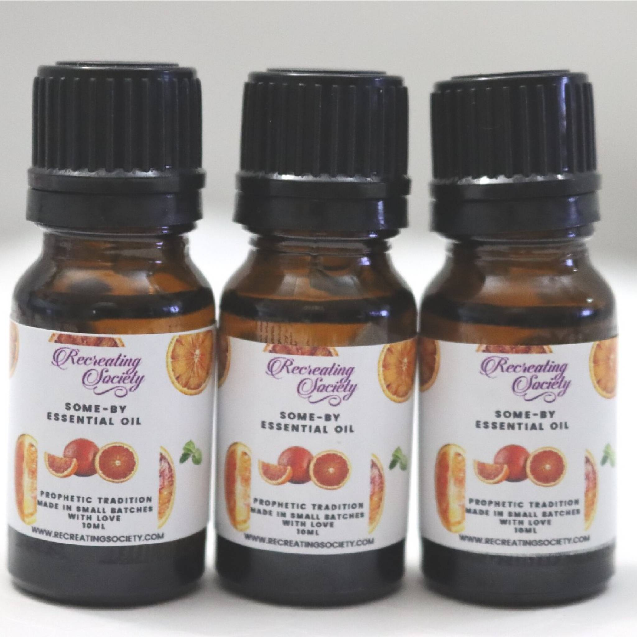 Som-By - Blood Orange Essential Oil