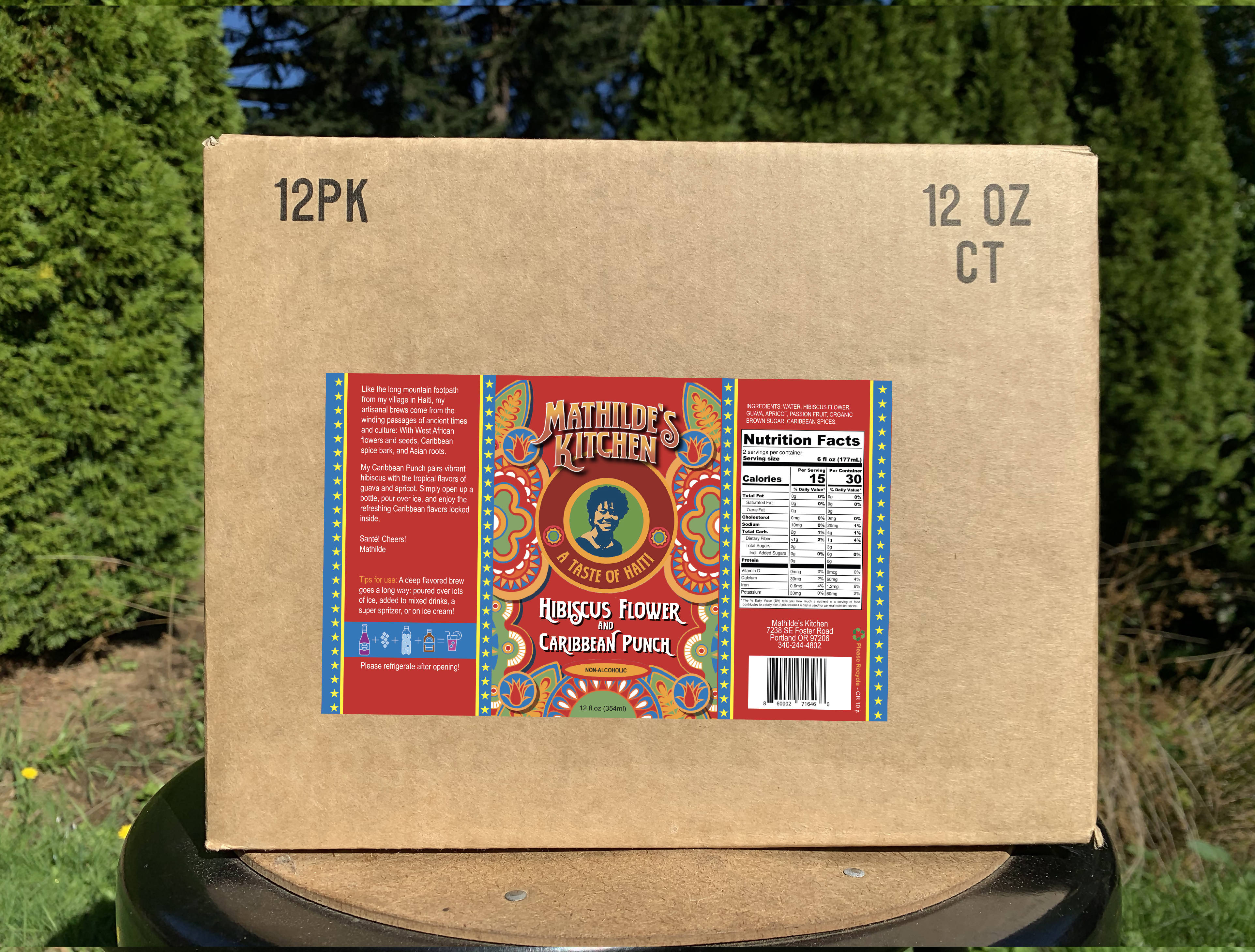 Hibiscus Flower & Caribbean Punch Brew 12-pack