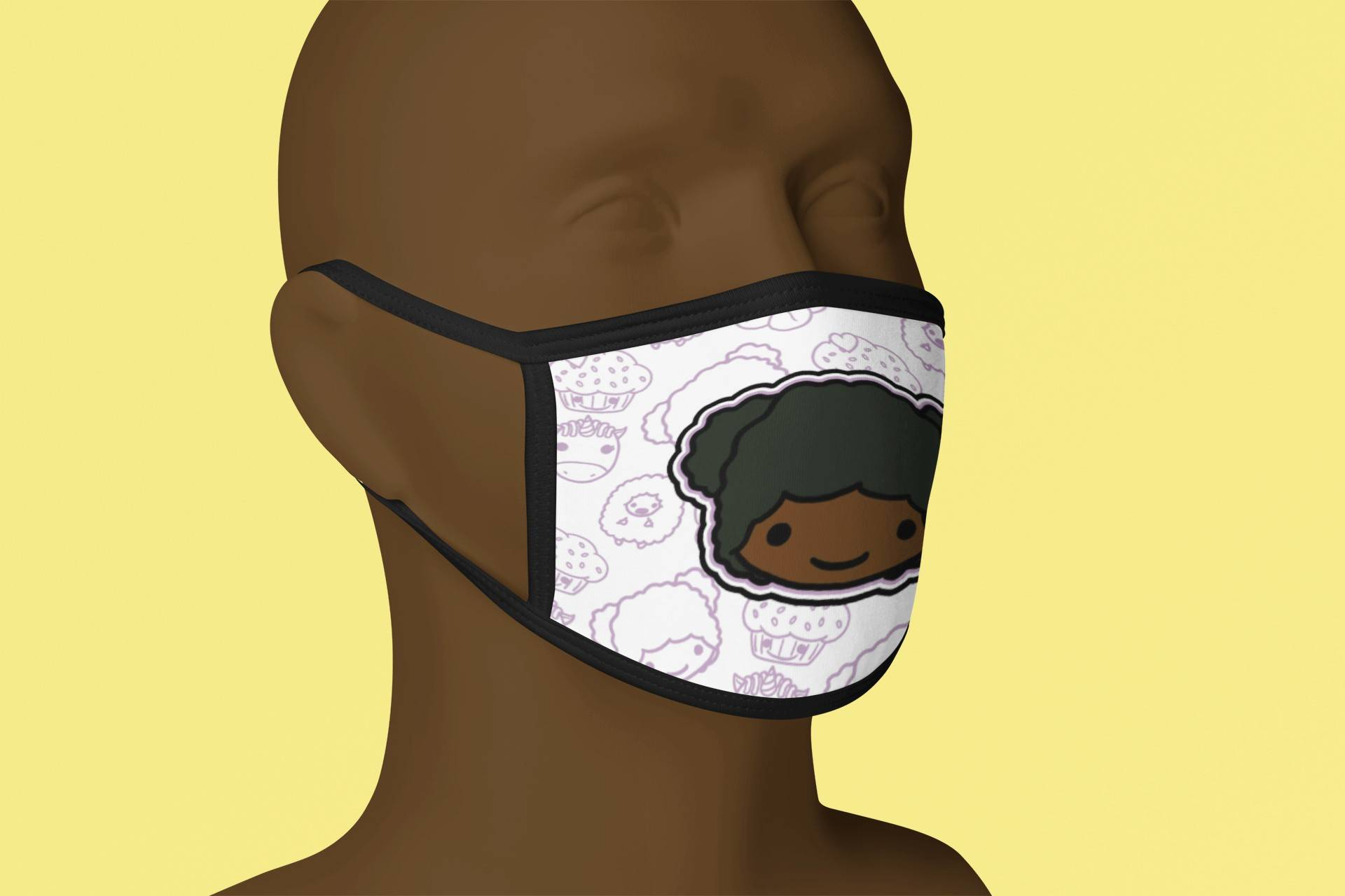 Vanessa Cloth Face Mask