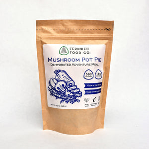 Mushroom Pot Pie - Dehydrated Adventure Meal