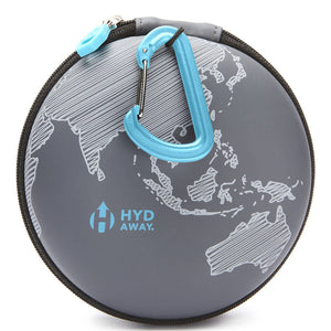 Open image in slideshow, HYDAWAY Travel Case For Collapsible Water Bottles