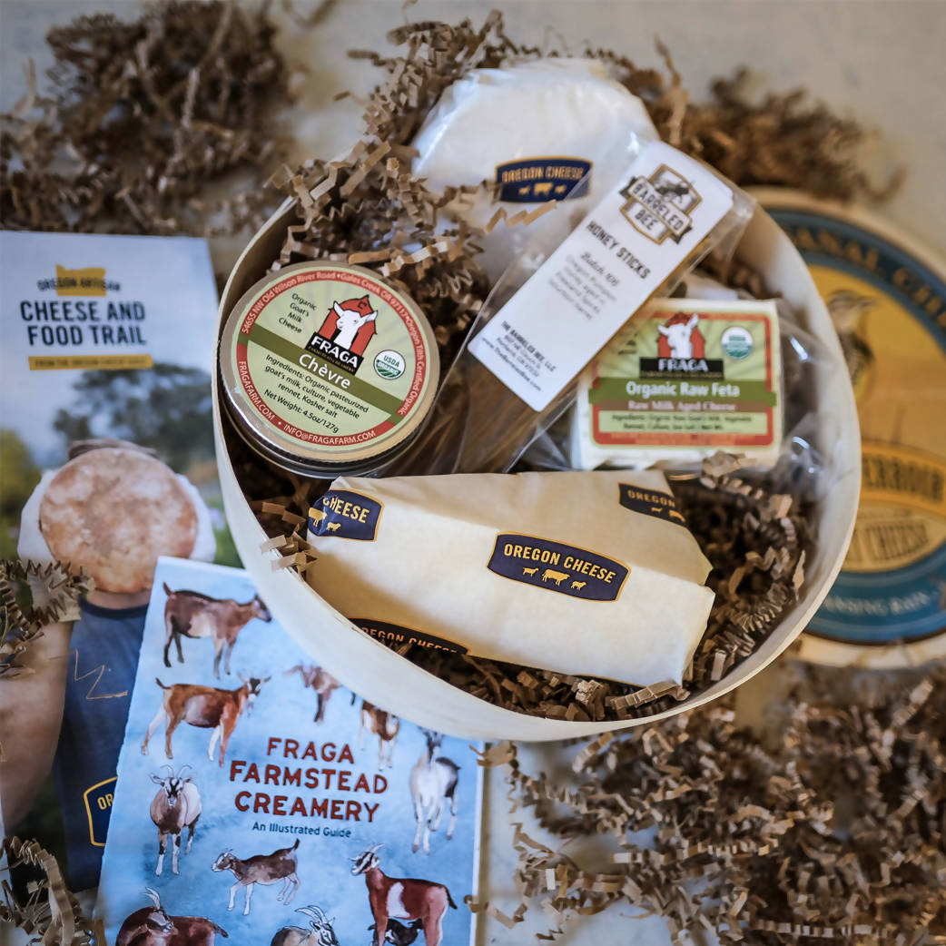Oregon Artisan Cheese Collection - shipped to Oregon / Washington