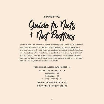 Nut Butter Cookbook: Over 50 Clean + Simple Recipes to Fuel a Healthy Lifestyle