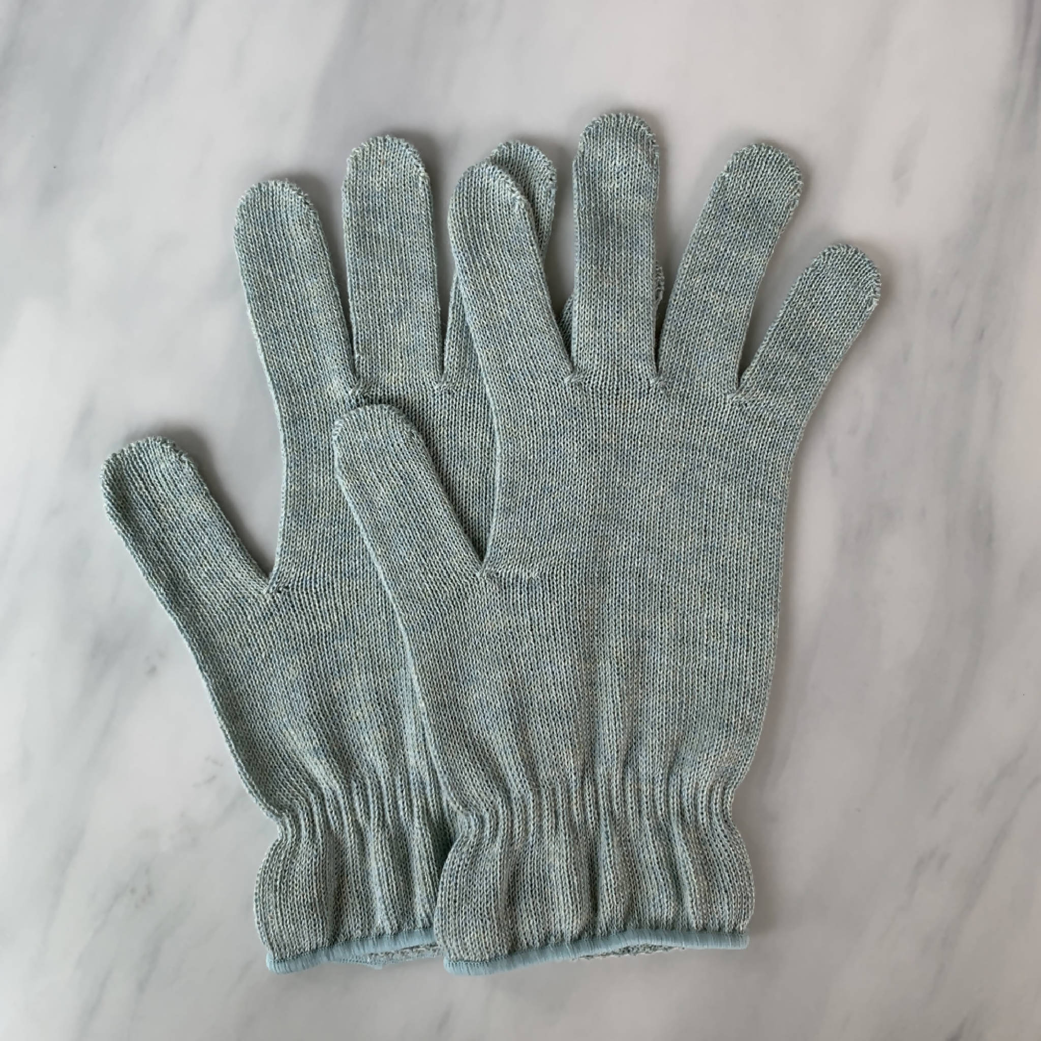 Botanical Dyed Organic Cotton Gloves