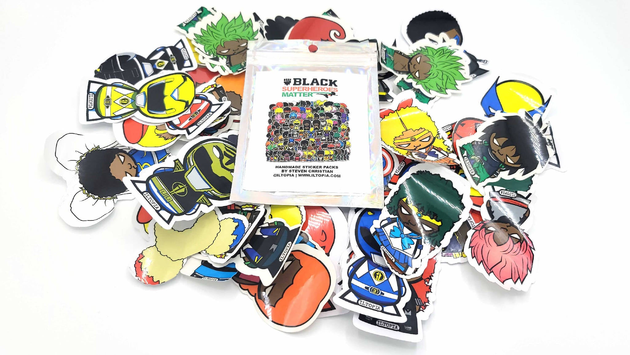 Superhero Sticker Booster Packs