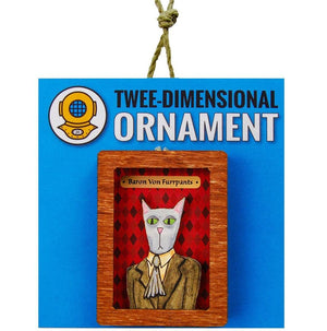 Open image in slideshow, Baron Von Furpants Ornament or Magnet