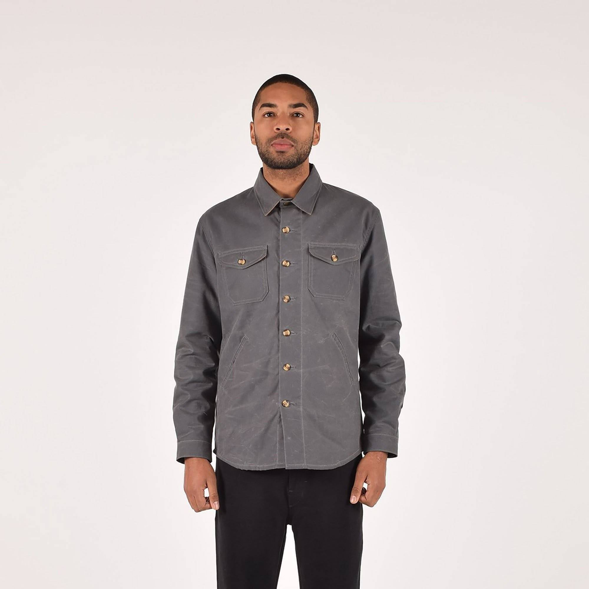 Crissman Overshirt Waxed Canvas