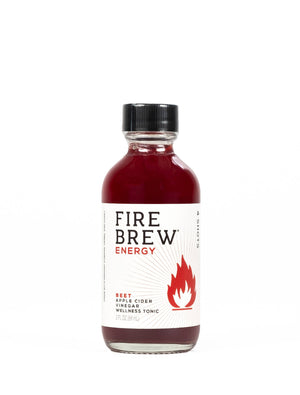 Open image in slideshow, Fire Brew | Energy - Beet | Apple Cider Vinegar Superfood Tonic