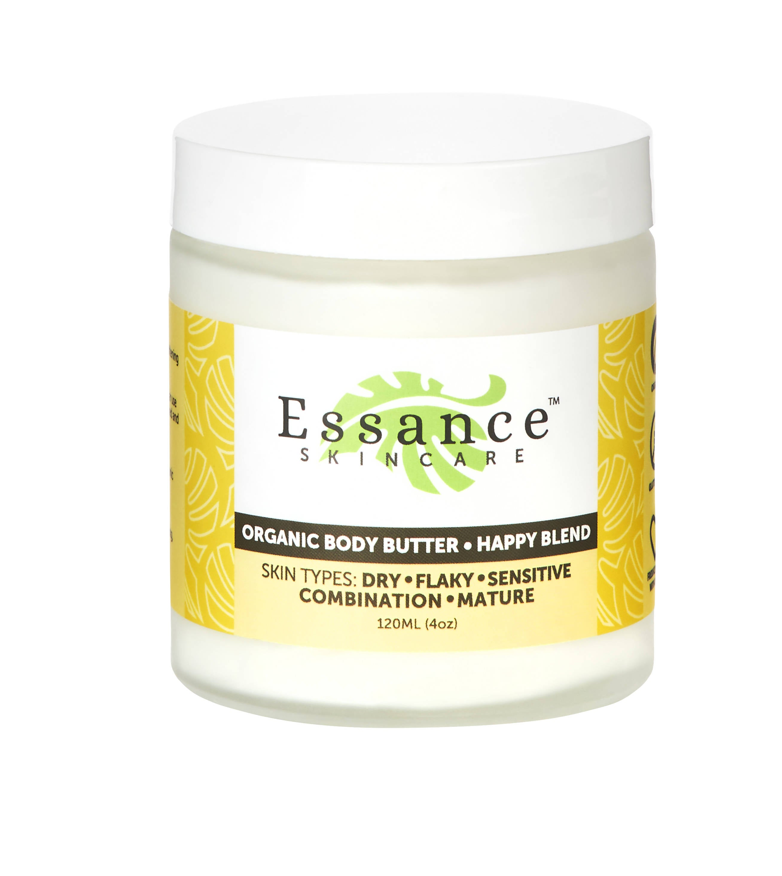 Organic Body Butter- Happy Blend
