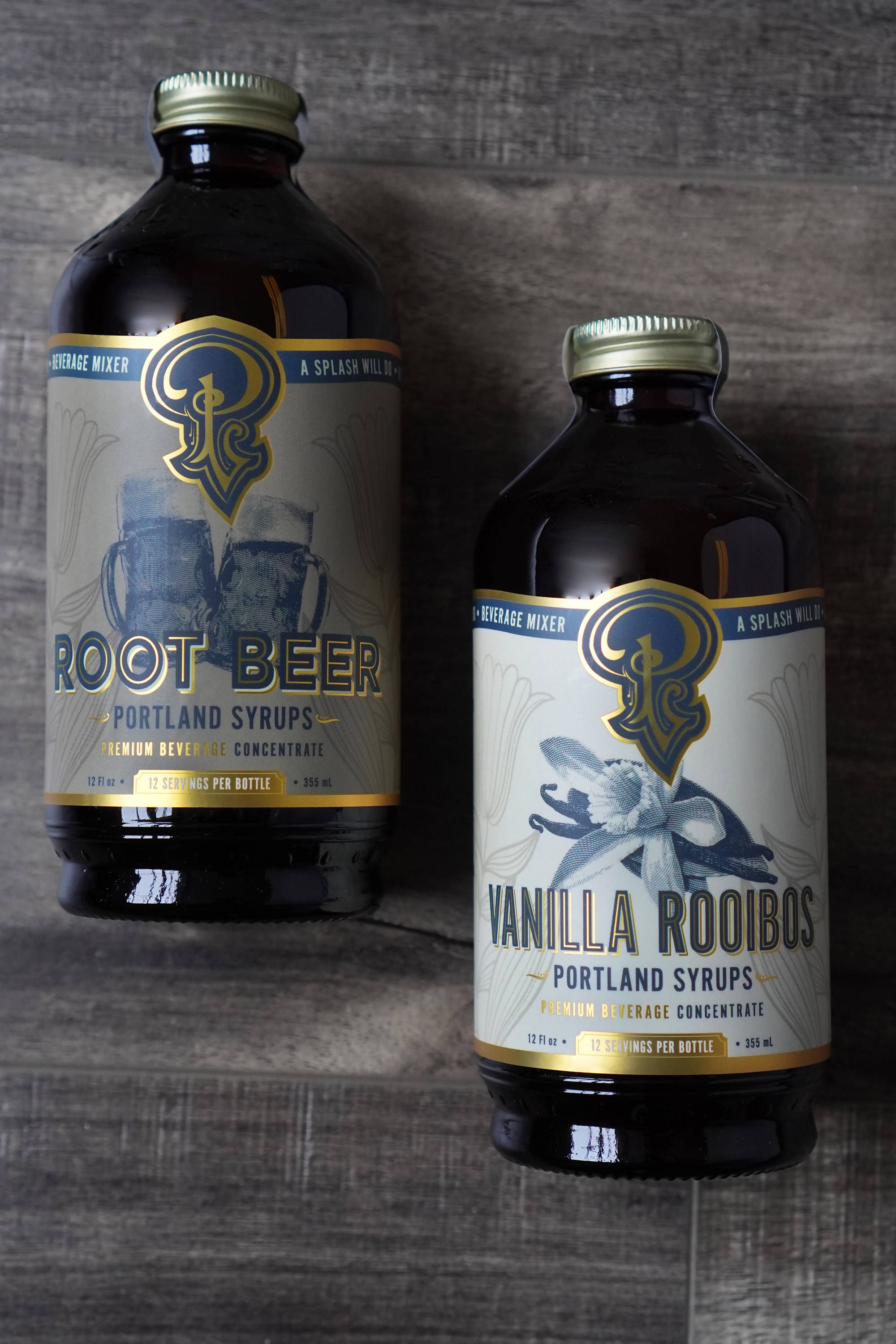 Root Beer and Vanilla Rooibos Syrup