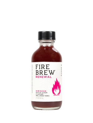 Open image in slideshow, Fire Brew | Renewal - Hibiscus | Apple Cider Vinegar Superfood Tonic