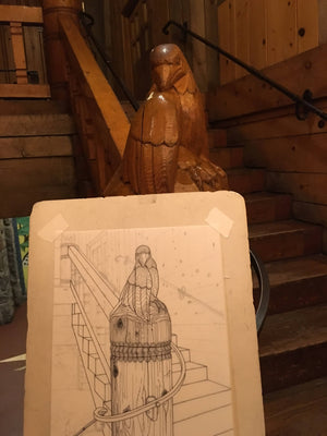 The Unique Woodwork of Timberline Lodge