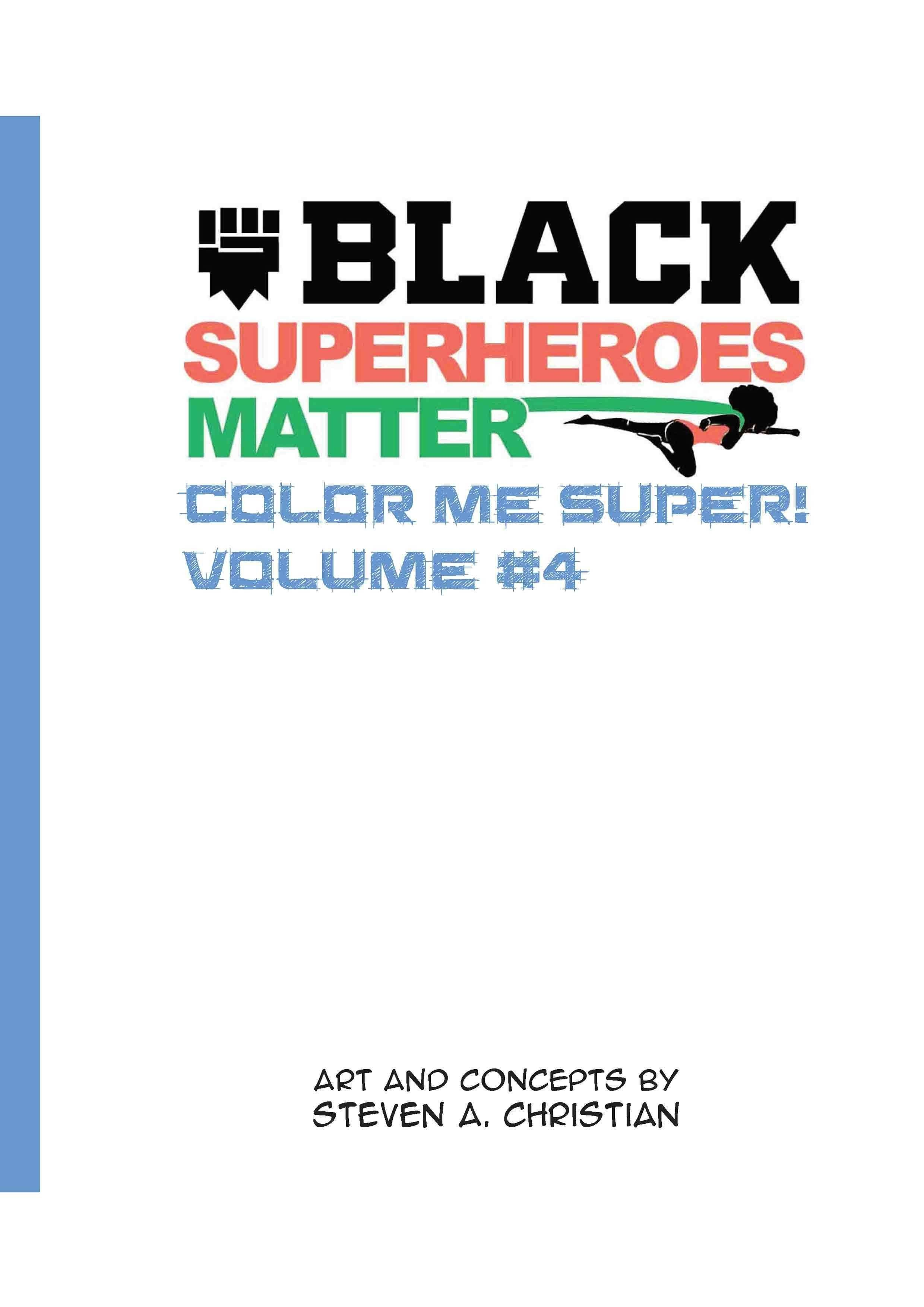 Color Me Super Volume 4