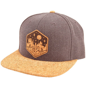 Open image in slideshow, Moonlight Mesa Cork Brim Snapback
