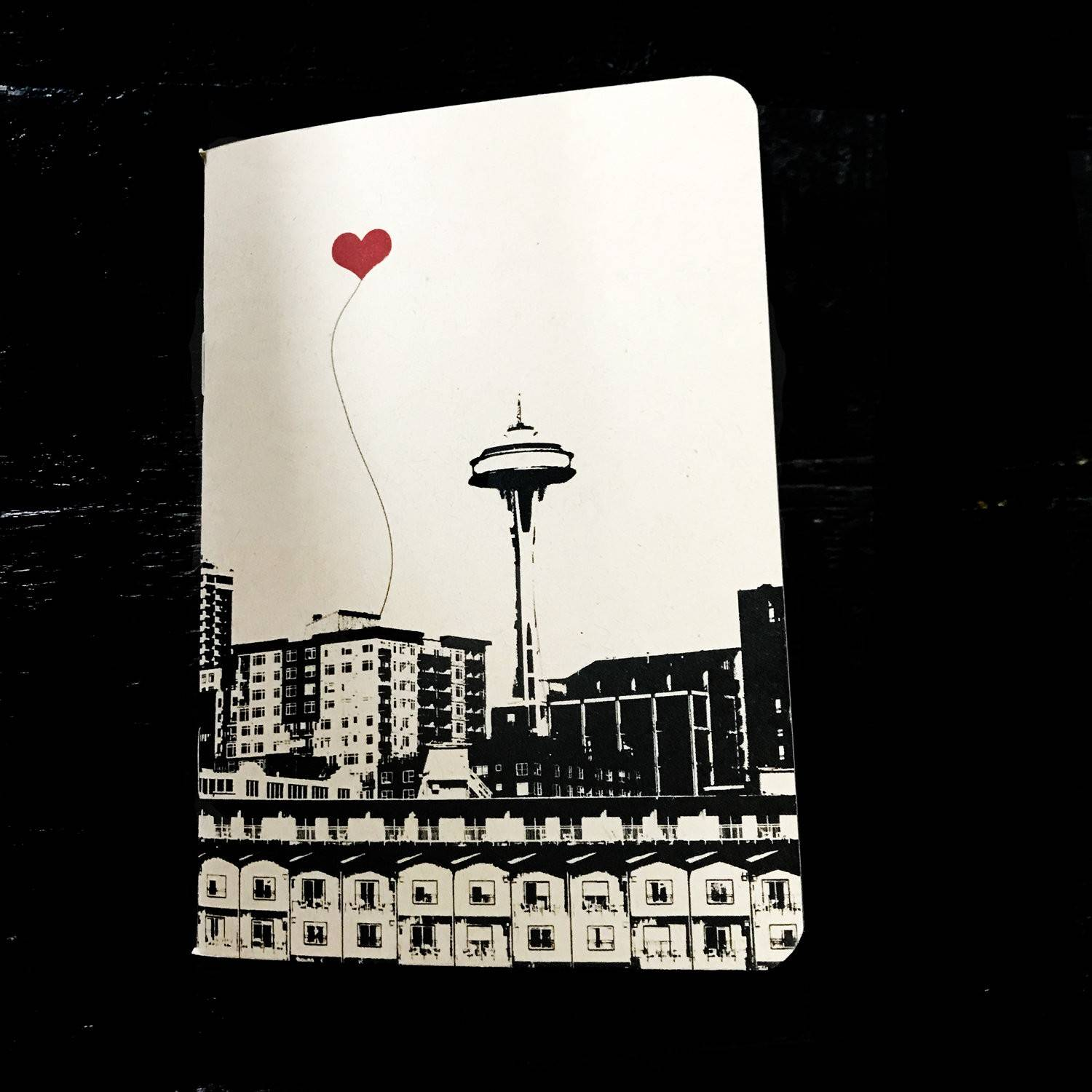 Seattle Space Needle Pocket Notebook