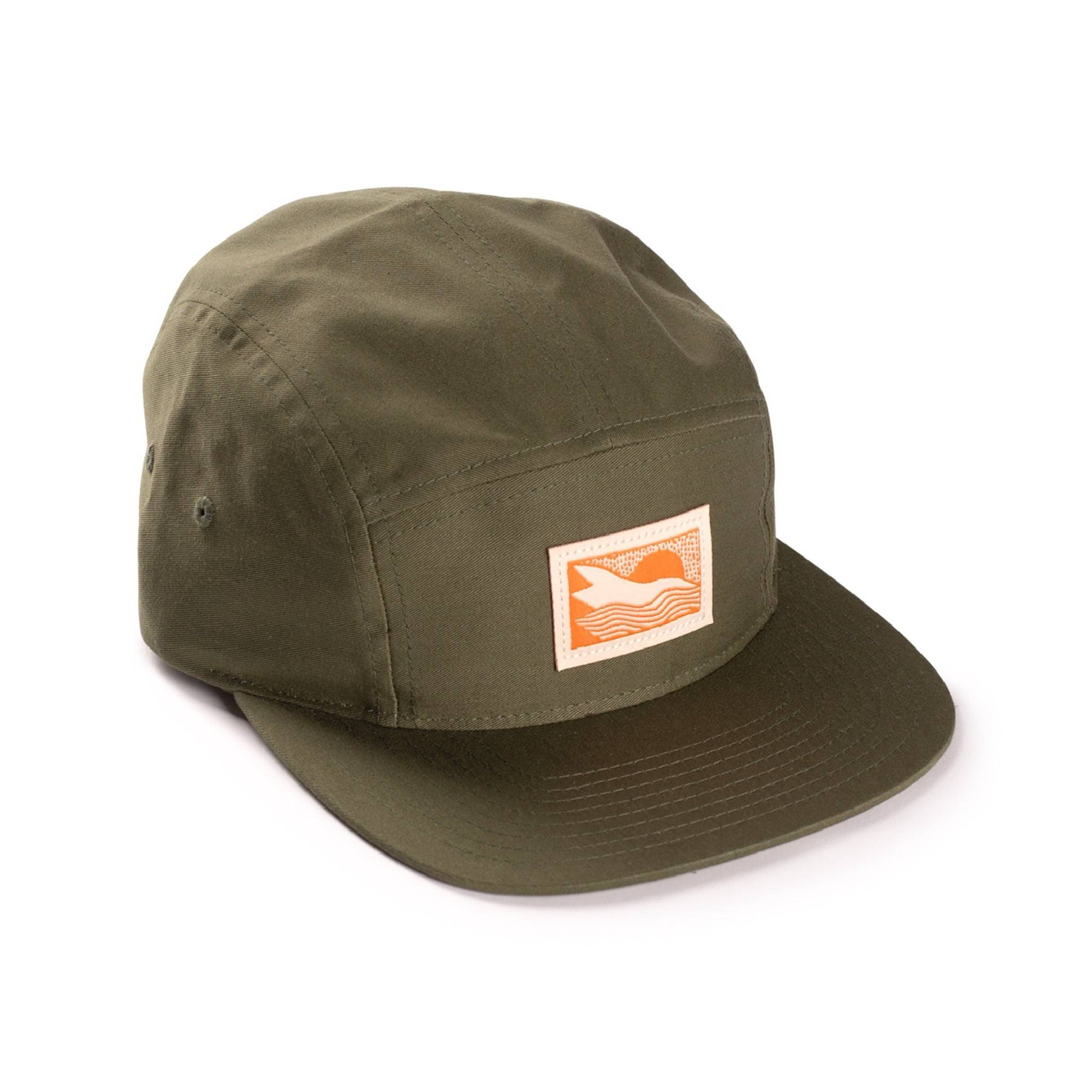 Abstract Landscape 5-panel hat