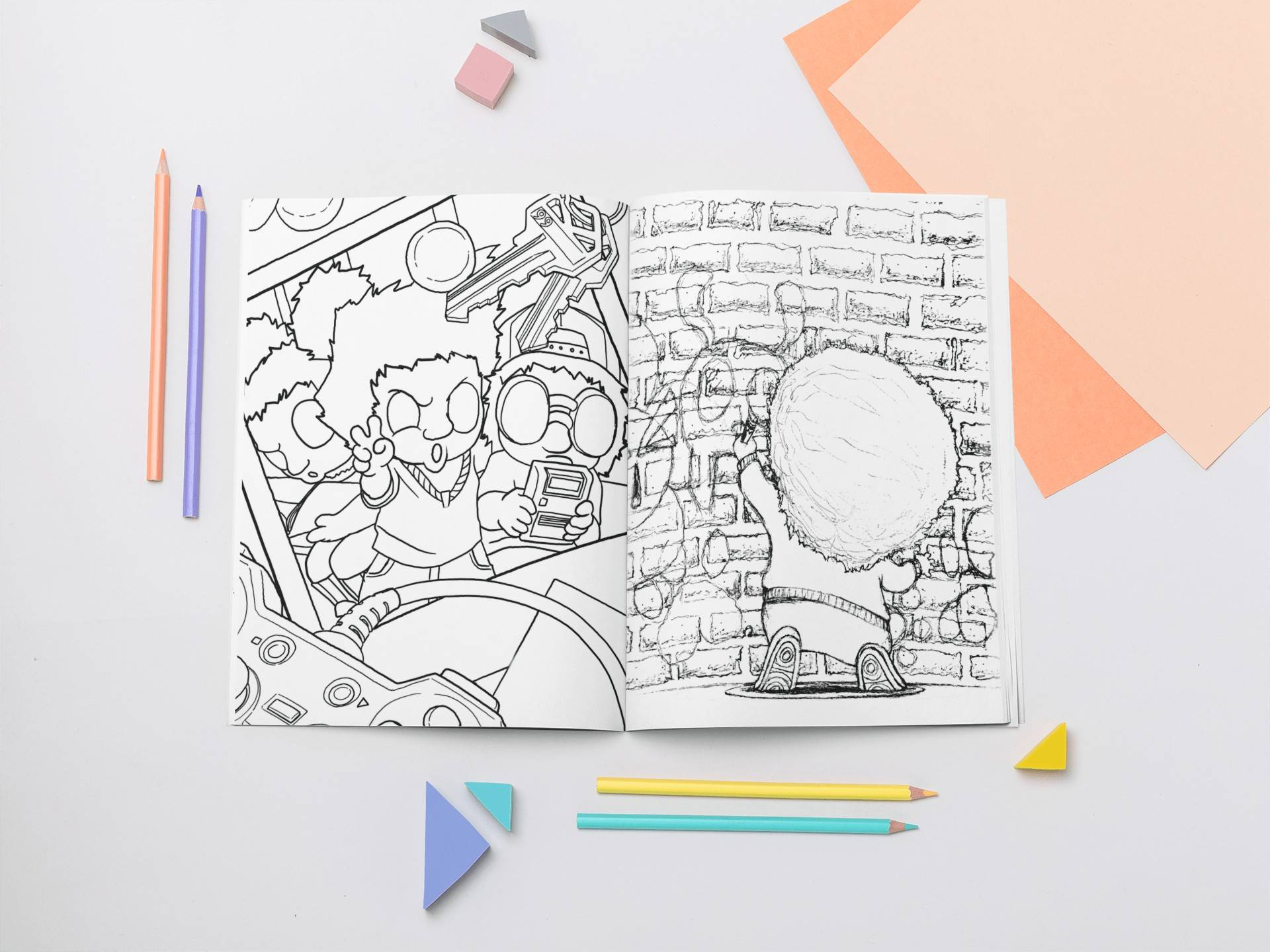 Doodlyfe Coloring Book