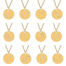 Load image into Gallery viewer, Beautiful Constellation Astrology Necklace For Every Zodiac Sign Unisex