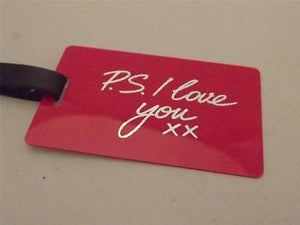 Novelty Luggage Crew Tags - P.S. I Love You xx -  Inflightgoods