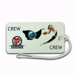 Virgin Space Crew  Luggage tag  Crew .airports .airline crew -  Inflightgoods