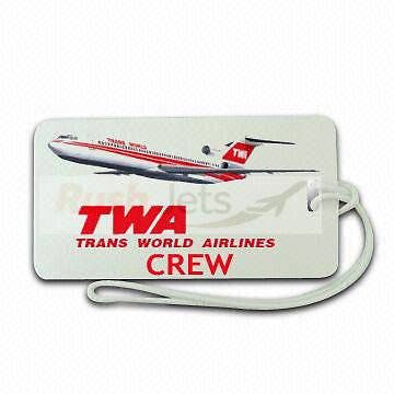 Novelty  LUGGAGE TAG TWA CREW -  Inflightgoods