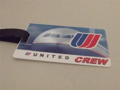 Novelty Luggage Crew Tags - United Crew -  Inflightgoods