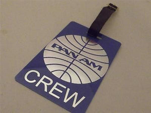 Novelty Luggage Crew Tags - Panam Airline -  Inflightgoods
