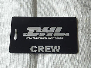 Novelty Luggage Crew Tags -D.H.L -  Inflightgoods   - 3