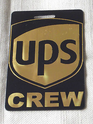 Novelty Luggage Crew Tags -UPS Crew -  Inflightgoods   - 1