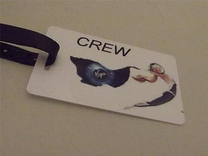 Novelty Luggage Crew Tags - Virgin Crew -  Inflightgoods